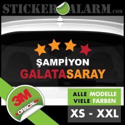 Galatasaray Istanbul Champion Aufkleber
