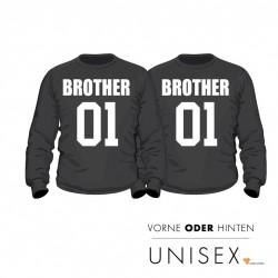 """Partner Pulli Set """"Brother and Brother"""" für Ihn und Ihn"""