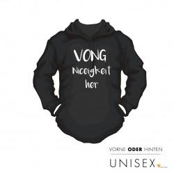 """Hoody """"VONG"""" mit Wunschtext"""