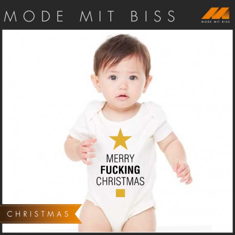 "Babystrampler ""All I want for Christmas"""