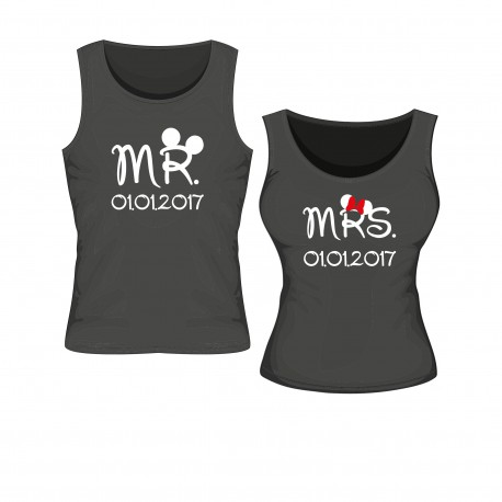 Tanktop Set Mr. & Mrs.