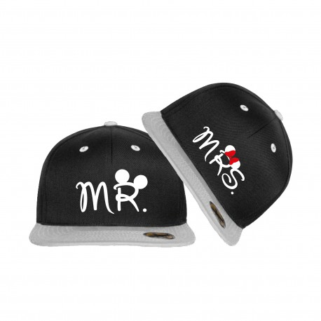 Snapback Set Mr Mrs