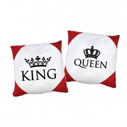 Kissen Set King. & Queen.