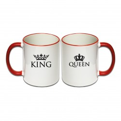 Tassen Set King & Queen