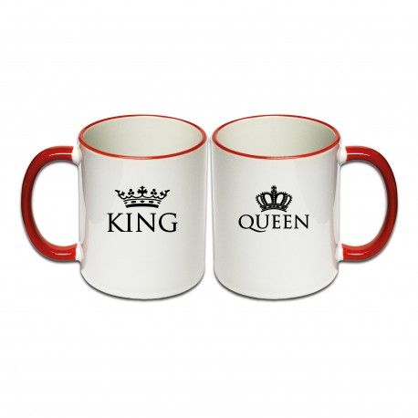 Tassen Set King & Queen 2