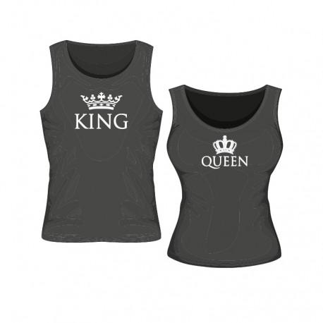 Tanktop Set King & Queen