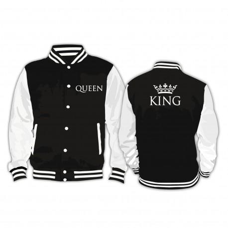 Partner Collage Jacke King & Queen