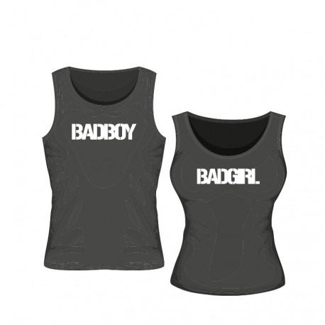 Badboy Set für Ihn (Tanktop + Snapback) black