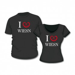 "Damen Fun Shirt ""I Love Wiesn"""