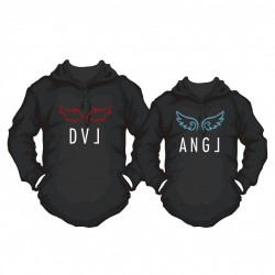 Hoody Partner Set Angel & Devil