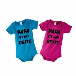 "Babystrampler ""Papa ist der Beste"""