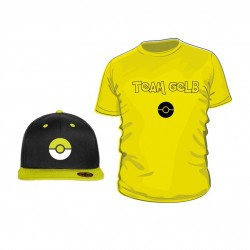 Pokemon Go Set (Shirt + Snapback) TEAM GELB
