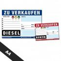 KFZ Verkaufsschilder A4