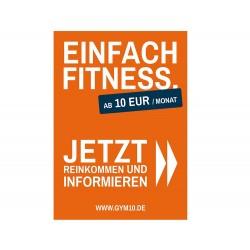 Gym 10 Poster Set A0