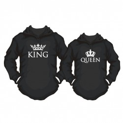 RESTPOSTEN Partner Hoodie Set King oder Queen
