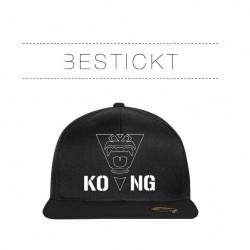 """NEU Bestickte Bicolor Snapback """"Kong 2"""""""