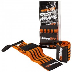Supplify Hardcore Wrist Wraps Handgelenkbandagen, 1 Paar