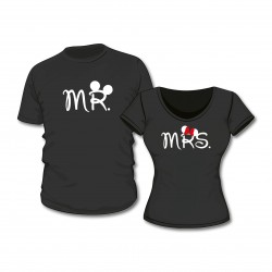 T-Shirt Set Mr. & Mrs.