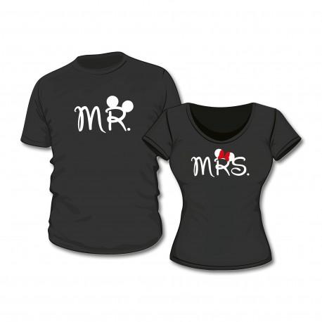 T-Shirt Set Mr. & Mrs.