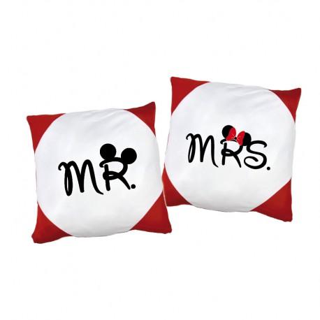 Kissen Set Mr. & Mrs.