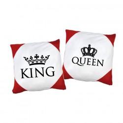 Kissen Set King. & Queen.