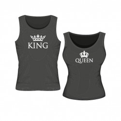 Tanktop Set King & Queen