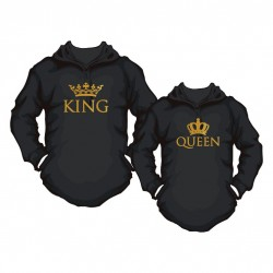 Hoody Partner Set King / Queen Gold Edition