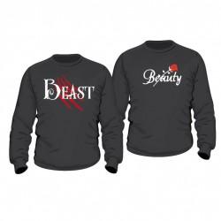 Partner Pulli Set Beauty & Beast mit Wunschdatum