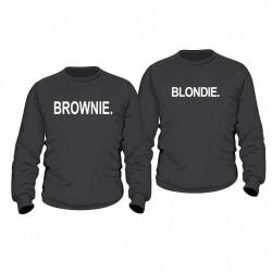 Partner Pulli Set Blondie & Brownie. für Sie und Ihn