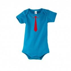 Babystrampler Krawatte