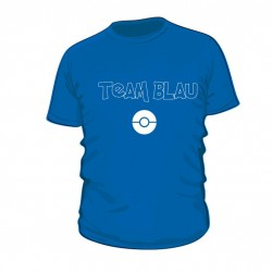 Pokemon Go TEAM BLAU Shirt