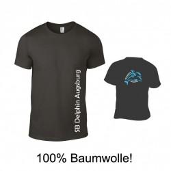 Erwachsenen T-Shirt Unisex SB DELPHIN 100% Baumwolle
