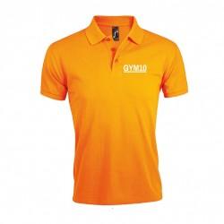 Polo für Damen oder Herren orange