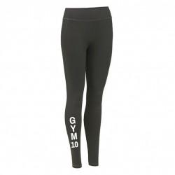 GYM 10 Damen Sport Leggings grau