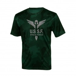 "Honzze Shirt ""Space Force"" Variante 1 (grün)"