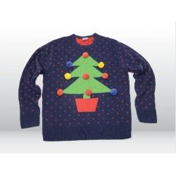 """Weihnachtspullover """"Tannenbaum"""" in 3D Unisex"""